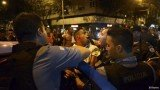 Police and protesters clashed in Rio de Janeiro following the death of Douglas Rafael da Silva Pereira