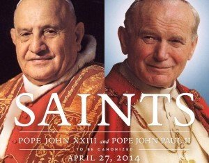 Pope John Paul II and Pope John XXIII's canonization is bringing attention to the complex process of becoming a saint