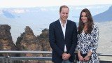 Prince William and Kate Middleton visited Echo Point in Katoomba to see the famous Three Sisters rock formation