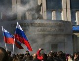 Pro-Russian separatists have stormed the regional administration's headquarters in the eastern Ukrainian city of Luhansk