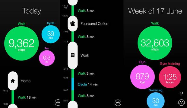 ProtoGeo created the Moves app that uses a smartphone's built-in sensors to track activity and calories burned