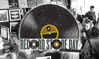 Record Store Day 2014 saw a surge in vinyl sales, with an increase of 133 percent on the previous week