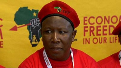 SABC refused to broadcast a campaign ad from the Julius Malema's EFF as it incited violence