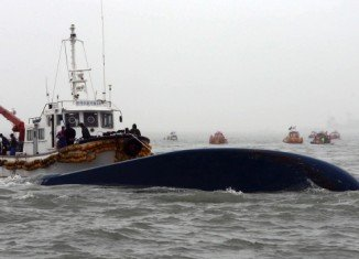 Sewol ferry capsized during a journey from Incheon in the north-west to the southern island of Jeju