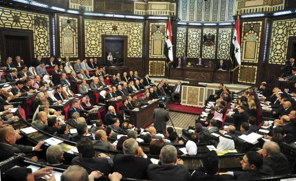 Syrian parliament announced the presidential election will be held on June 3