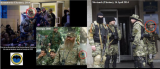 The US State Department has released photos purportedly showing the same bearded Russian soldier in operations in Georgia in 2008 and Kramatorsk and Sloviansk in Ukraine in 2014
