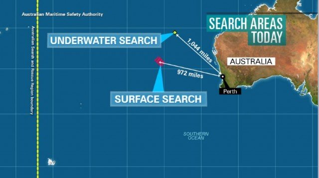 The debris was found by a member of the public near the town of Augusta, some 190 miles south of Perth