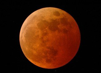 The first total lunar eclipse of 2014 will occur early morning on April 15