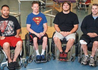 The men have been able to move their legs for the first time in years after electrical stimulation of their spinal cords