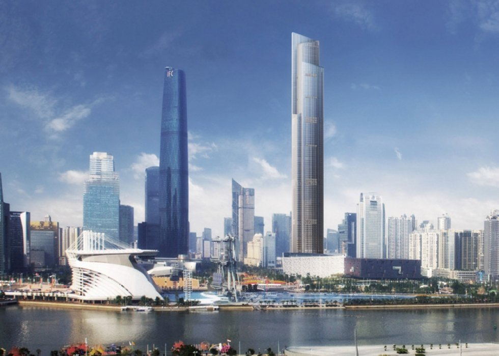 Guangzhou CTF Financial Centre Current News, Breaking News