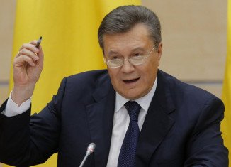 Ukraine's former PresidentViktor Yanukovych says Russia's annexation of Crimea is a tragedy