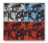 Andy Warhol's Race Riot was inspired by pictures of a notorious civil rights protest in Birmingham, Alabama