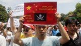 Anti-China protesters have set on fire several factories at Vietnam Singapore Industrial Park
