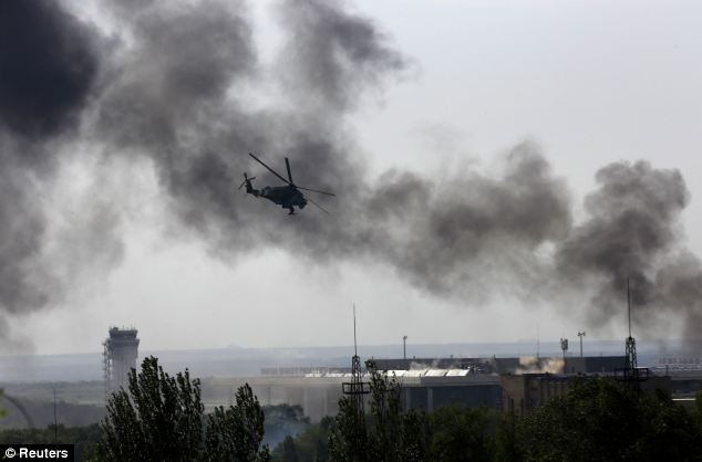 At least 30 pro-Russia separatists have been killed so far during clashes with Ukrainian forces at the Sergei Prokofiev Airport in Donetsk