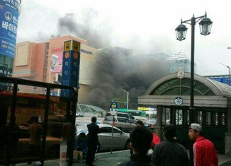 At least 7 people have been killed and 20 others injured in a fire at a bus terminal in Goyang city