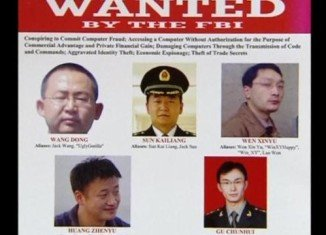 Beijing has denounced the US charges against five Chinese army officers accused of economic cyber-espionage