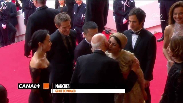 Cannes Film Festival president Gilles Jacob has played down a backlash in Iran after he kissed Iranian actress Leila Hatami on the cheek