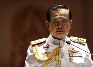 General Prayuth Chan-ocha has received royal endorsement at a ceremony in Bangkok