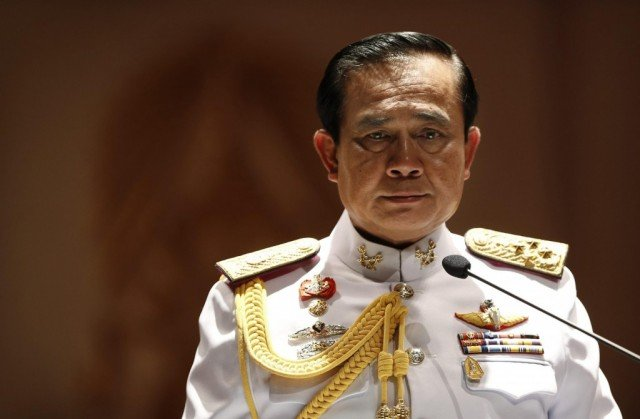 General Prayuth Chan-ocha has received royal endorsement at a ceremony in Bangkok