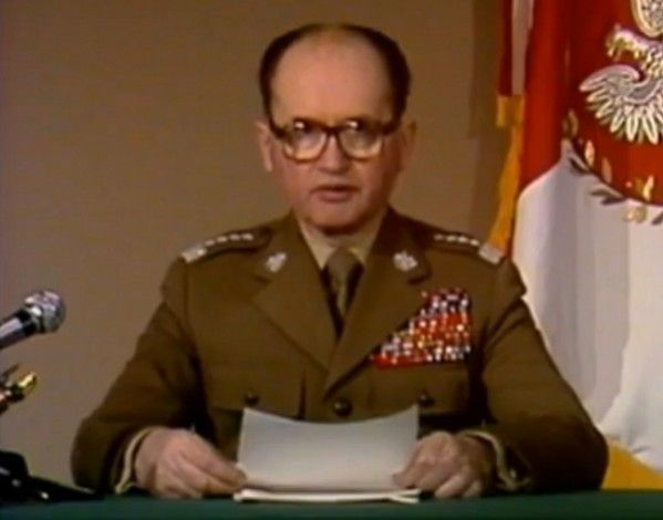 General Wojciech Jaruzelski led Poland from 1981 to 1990