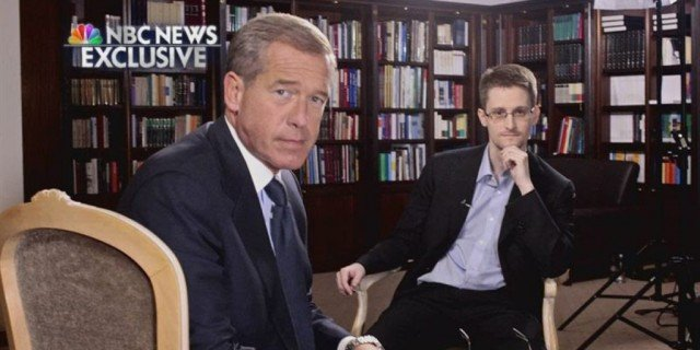 In an interview with NBC's Brian Williams, Edward Snowden said he had trained as a spy