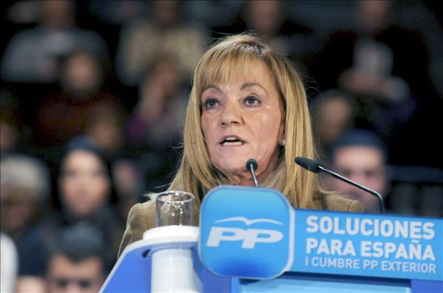 Isabel Carrasco was head of the provincial government in the northern Spanish city of Leon