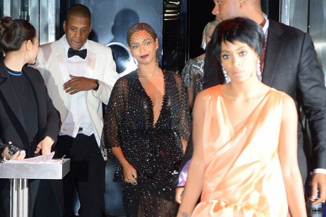 Jay-Z, Beyonce and her sister Solange Knowle had attended the Met Gala Ball last week in New York