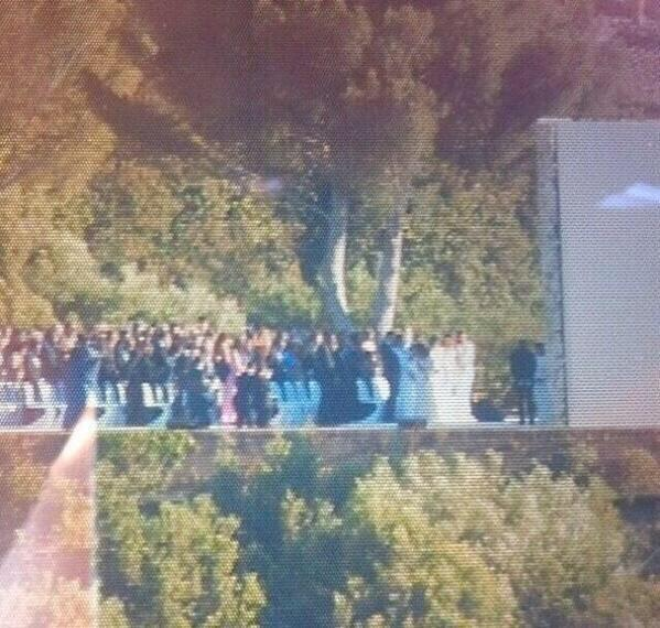 Kim Kardashian and Kanye West married at sunset in front of 200 guests at Fort Belvedere in Florence