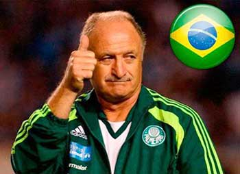 Luiz Felipe Scolai is currently the coach of the Brazil's national football team