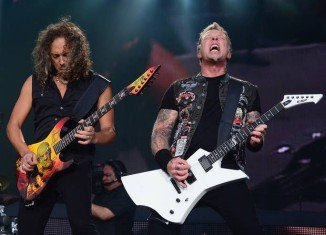 Metallica has been announced as the Saturday night headliners on the Pyramid Stage at this year's Glastonbury festival