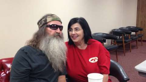 Miss Kay has been married to Phil Robertson since she was just 16 years old