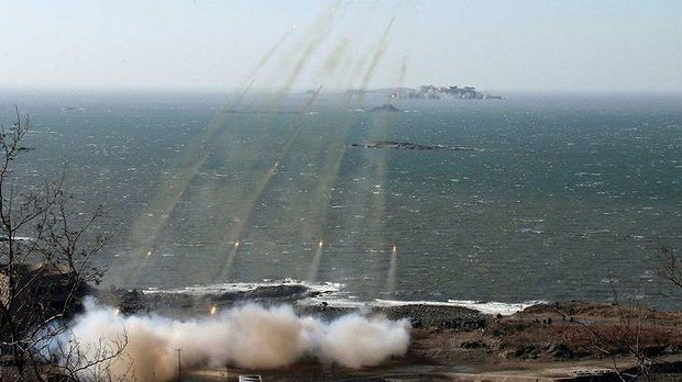 North Korea and South Korea regularly conduct drills near the western sea border, which has long been a flashpoint between the two Koreas