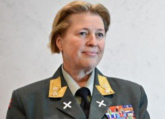 Norway's Major General Kristin Lund was appointed to lead troops in Cyprus