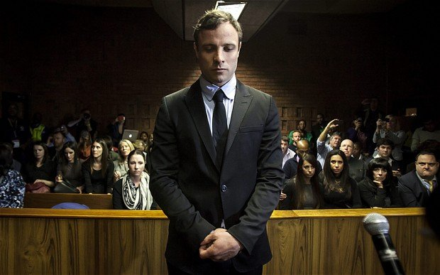 "Oscar Pistorius ""was broken"" after shooting his girlfriend Reeva Steenkamp"