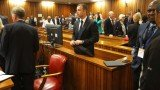 Oscar Pistorius's trial has begun today with discussion of when Reeva Steenkamp may have eaten her last meal