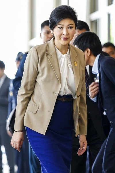 Ousted Thai PM Yingluck Shinawatra and a number of family members and politicians have been detained, as leaders of Thursday's military coup tightened their grip on power