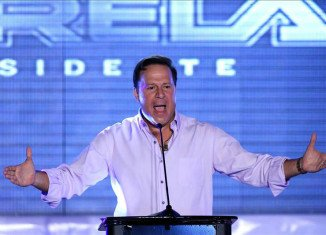 Panama's opposition leader Juan Carlos Varela has won the presidential election with almost 40 percent of the votes