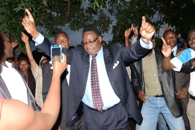 Peter Mutharika has been sworn in as Malawi's president after the High Court rejected a request for a recount following allegations of vote-rigging