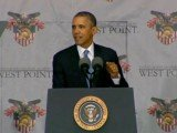 President Barack Obama has announced a $5 billion terrorism partnership fund at the US Military Academy in West Point