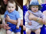 Prince George threw food at his cousin Mia Grace Tindall, when they first met