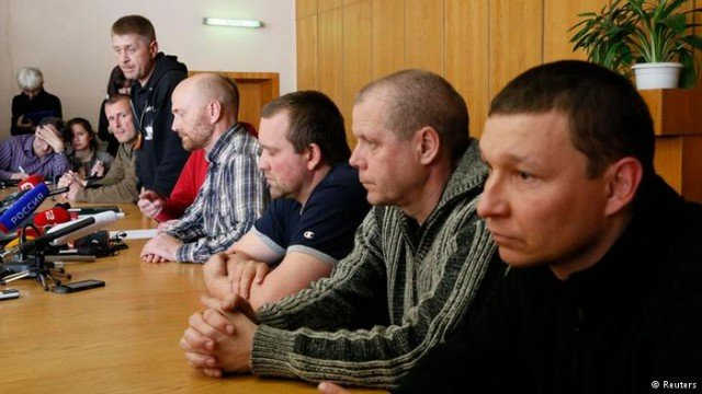 Pro-Russian separatists in Sloviansk say they released the OSCE observers without conditions