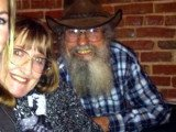 Si Robertson and his wife Christine celebrated their very first wedding ceremony after 43 years of marriage