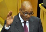 South Africa's President Jacob Zuma will be sworn into office for a second term