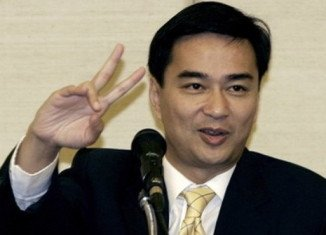 Thailand's opposition leader Abhisit Vejjajiva has called for elections scheduled for July to be pushed back by up to six months