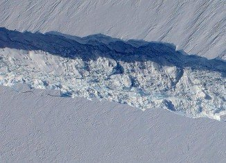 The NASA study revealed that West Antarctica's key glaciers are in an irreversible retreat