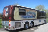The bus belonged to Willie Nelson's longtime drummer Paul English