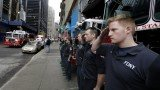 The unidentified remains of 9/11 victims returned to the World Trade Center site in a solemn procession
