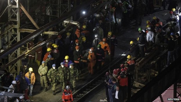 Three people are facing a charge of causing multiple deaths in Soma mine disaster