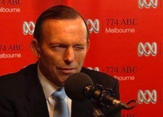 Tony Abbott appeared on ABC radio show to defend his budget proposals