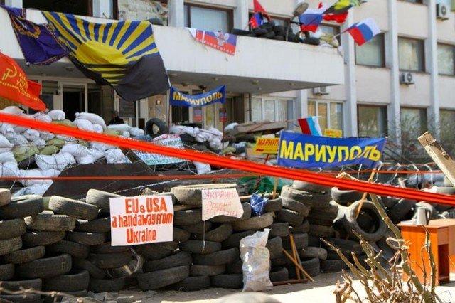 Ukraine troops have retaken Mariupol city hall from pro-Russia separatists